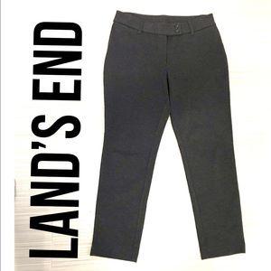 Land's End Gray pant size 10